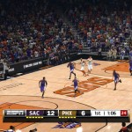 NBA Live 14: Patch - Phoenix Suns Court