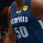 NBA Live 14: Patch - Zach Randolph Jersey Close-Up