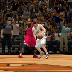 Goran Dragic takes on the Bulls in NBA 2K14 PC