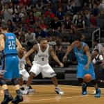 Kevin Durant vs the Nets in NBA 2K14 PC