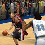 Damian Lillard takes on the Nuggets in NBA 2K14 PC