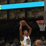 Harrison Barnes dunks in NBA 2K14 on PlayStation 4