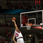 Joakim Noah dunks in NBA 2K14 PC