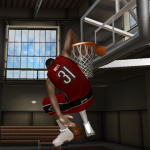 Terrence Ross with the Honey Dip in NBA Live 08 PC