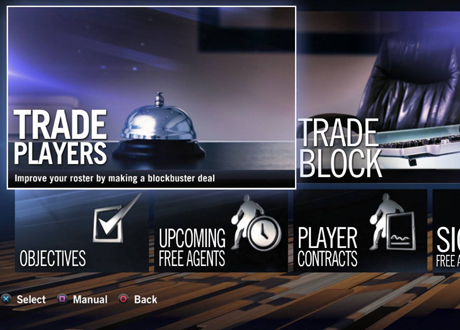 GM's Desk in NBA Live 14's Dynasty Mode