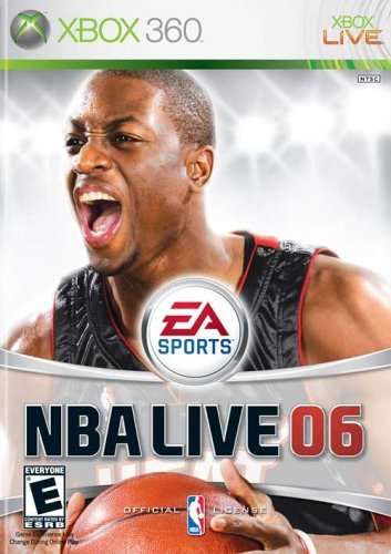 NBA Live 06 Xbox 360 Cover Art Box
