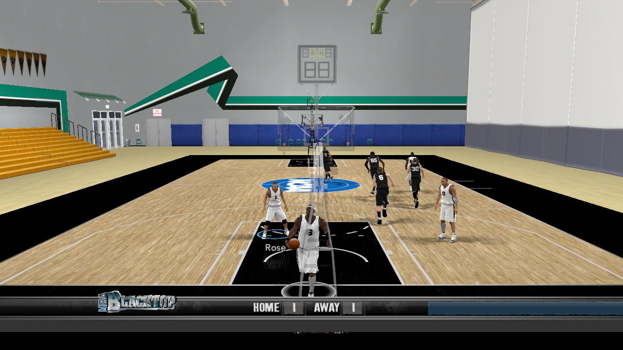 NCAA Practice Court NBA 2K10