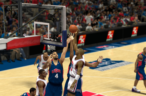 Michael Jordan dunks in NBA 2K13
