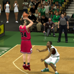 Mike Dunleavy fires up a three in NBA 2K14 PC