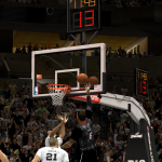 LeBron James takes on the Spurs in NBA 2K14 PC