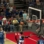 John Wall takes on the Grizzlies in NBA 2K14 PC