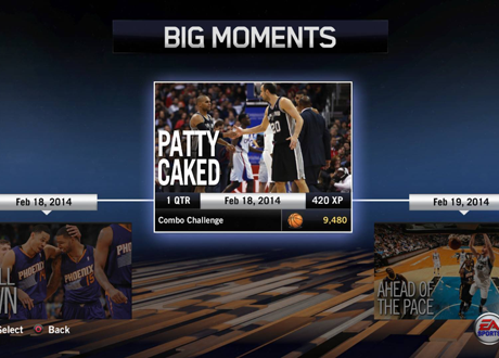 """Patty Caked"" BIG Moment in NBA Live 14"