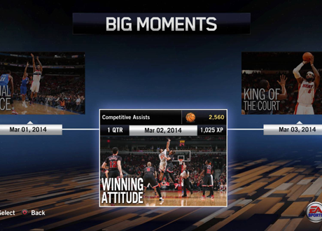 """Winning Attitude"" BIG Moment in NBA Live 14"