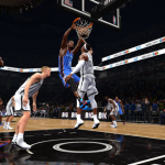 Kevin Durant throws it down in NBA Live 14