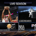 LIVE Season menu in NBA Live 14