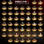 NBA Live 14 Ultimate Team - Full Legends Roster