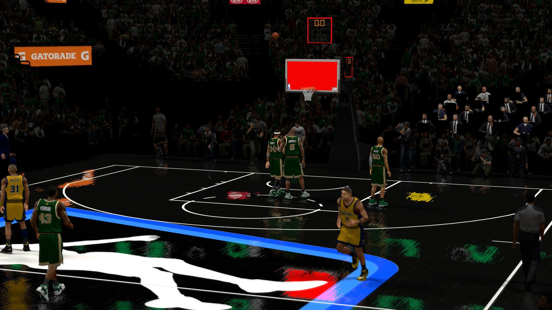 NBA Jam He's On Fire Mod NBA 2K14 PC