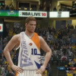 NBA Live 10 Warriors Contest Uniform 1