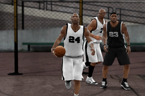 Blacktop in NBA 2K10