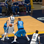 Grizzlies vs Mavericks in NBA 2K14 PC