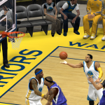 Andre Iguodala lays it in against the Kings in NBA 2K14 PC