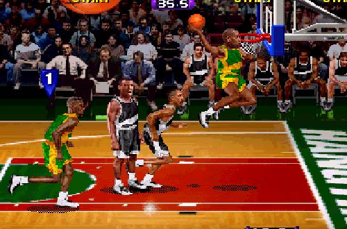 Gary Payton in NBA Hangtime