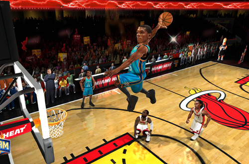 Kevin Durant in the 2010 reboot of NBA Jam