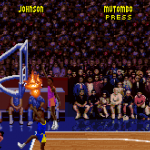 On Fire in the original NBA Jam on Super Nintendo