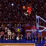 Scottie Pippen in the original NBA Jam