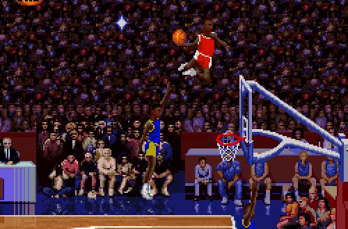 Scottie Pippen in the original NBA Jam