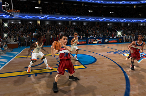JaVale McGee in NBA Jam: On Fire Edition
