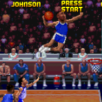 Alonzo Mourning in NBA Jam Tournament Edition