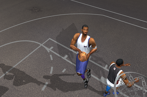 One-on-One Mode in NBA Live 2003