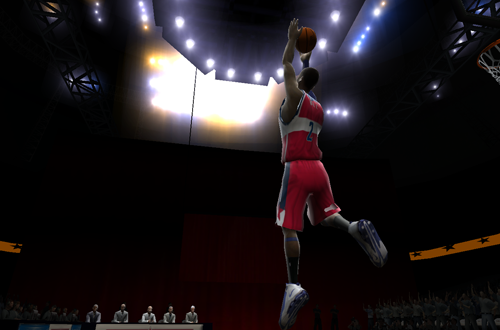 Dunk Contest in NBA Live 2005
