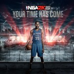 Kevin Durant NBA 2K15 Cover Announcement