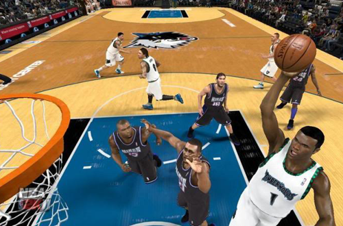 Floyd Bradley in The X's NBA 2K11 Minnesota Timberwolves Association