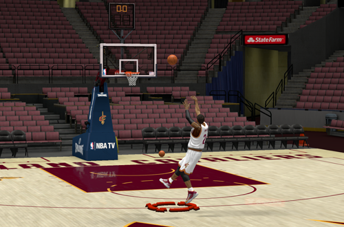 Kyrie Irving with the Euro Step Cheese in NBA 2K13