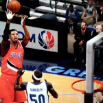 LaMarcus Aldridge with the jumper in Lamrock's NBA 2K13 Association