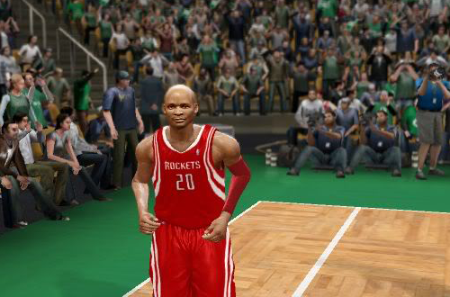 Ray Allen  in Axel.'s NBA Live 10 Dynasty