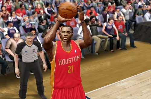 Donte Greene in Axel.'s NBA Live 10 Dynasty