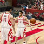 Yao Ming & Kevin Martin in Axel.'s NBA Live 10 Dynasty
