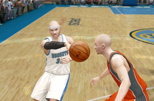 Borislav Perko in The Next Level, NBA Live 10