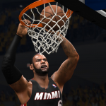 LeBron James dunks against the Indiana Pacers in NBA Live 14
