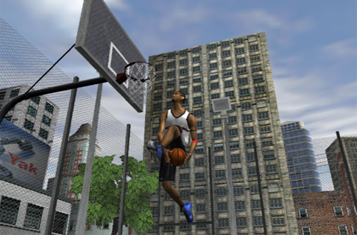 Tracy McGrady goes between-the-legs in NBA Live 2002