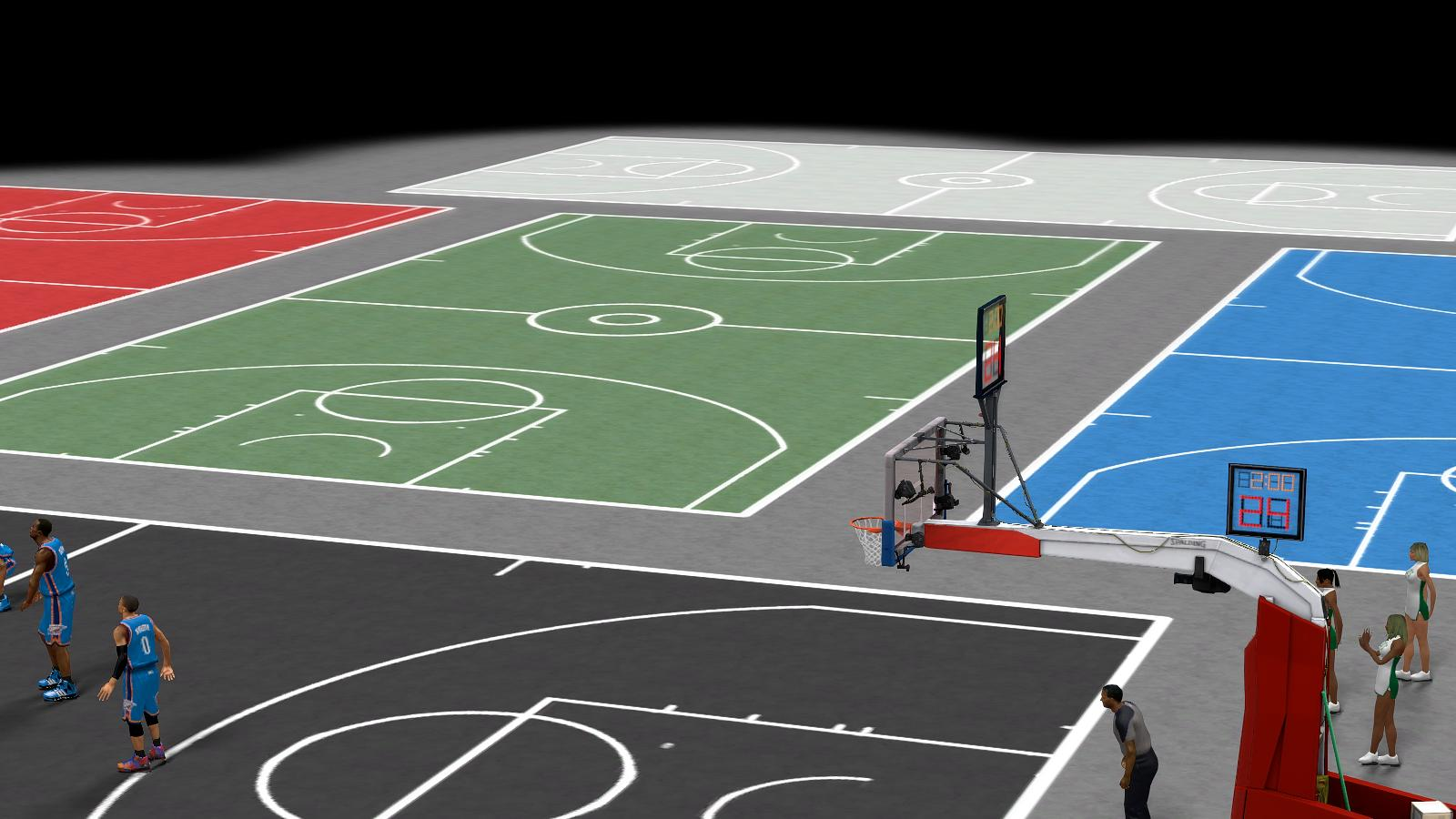 NBA 2K14 Street Mod Failed MultiCourt