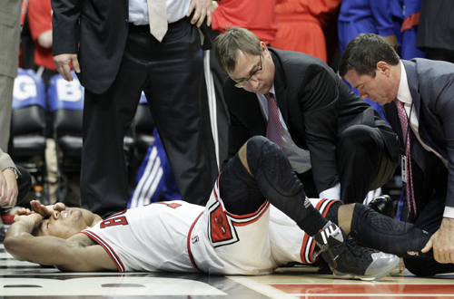 Derrick Rose's Injury in 2012