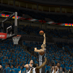 Tim Duncan takes on the Oklahoma City Thunder in NBA 2K14 PC
