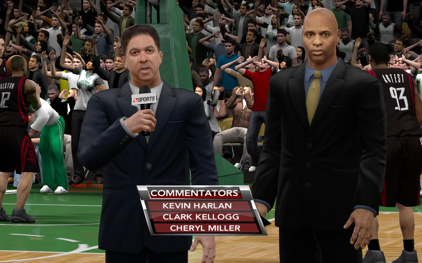 NBA 2K9 Commentators