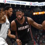 LeBron James vs Kawhi Leonard in NBA Live 14