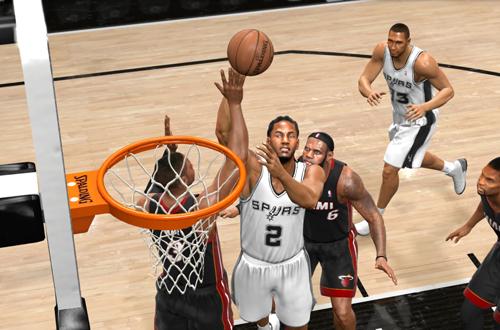 Kawhi Leonard in NBA Live 14